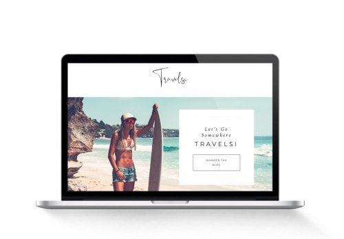 monetized travel blog for sale