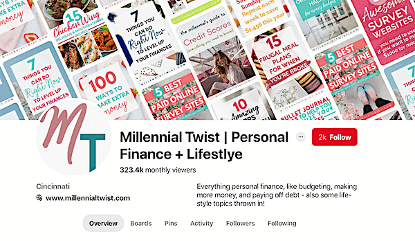 lifestyle blog for sale pinterest account buy website millennial niche