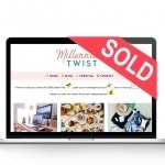 millennial lifestyle blog for sale sold-mac