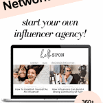 influencer network blog for sale