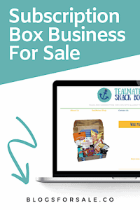 new healthy subscription box startup for sale