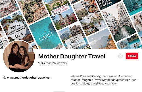 mother daughter travel blog for sale pinterest