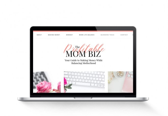 profitable mom biz lifestyle blog for sale