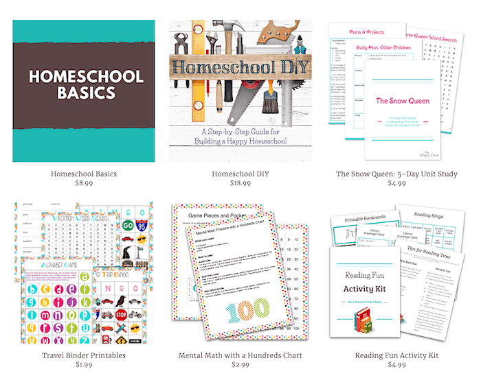 homeschooling tips blog for sale shop