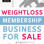 womens healthy lifestyle weight loss membership site for sale