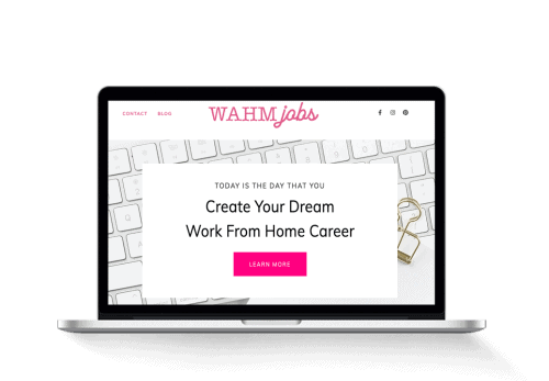 work at home mom jobs blog for sale