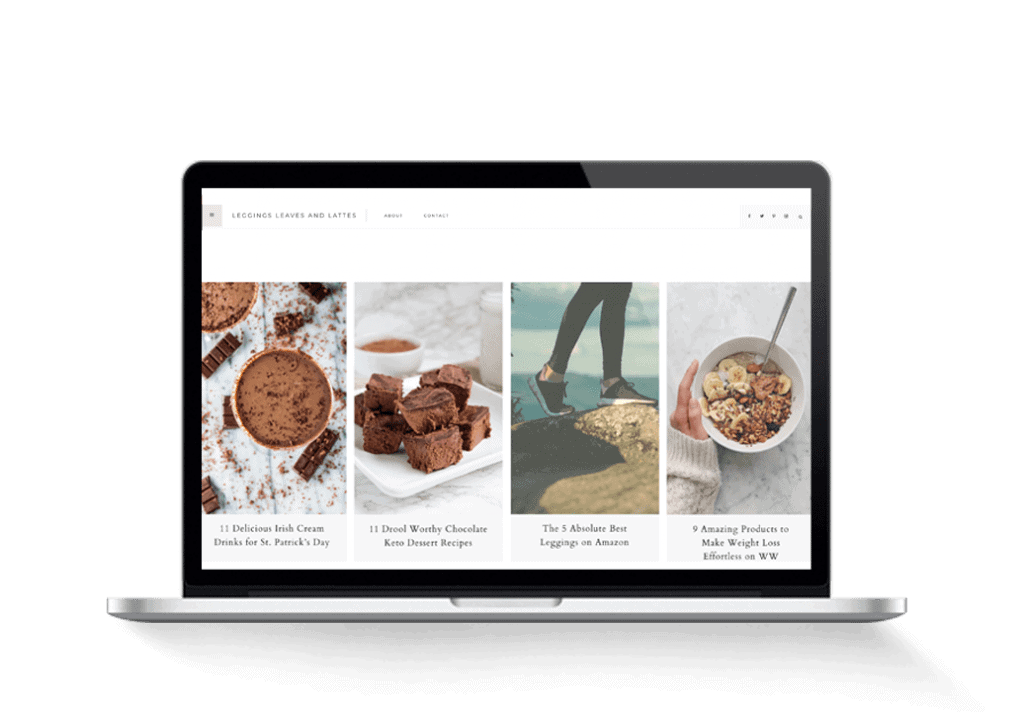 food and fitness lifestyle blog for sale
