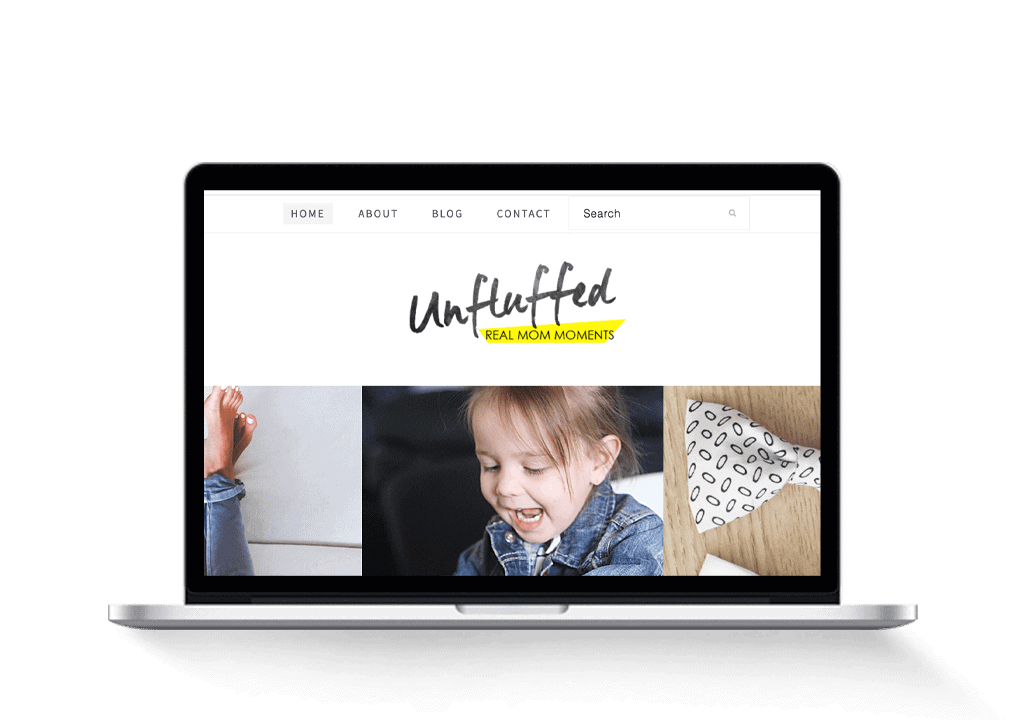 lifeunfluffed mom family crafting blog for sale