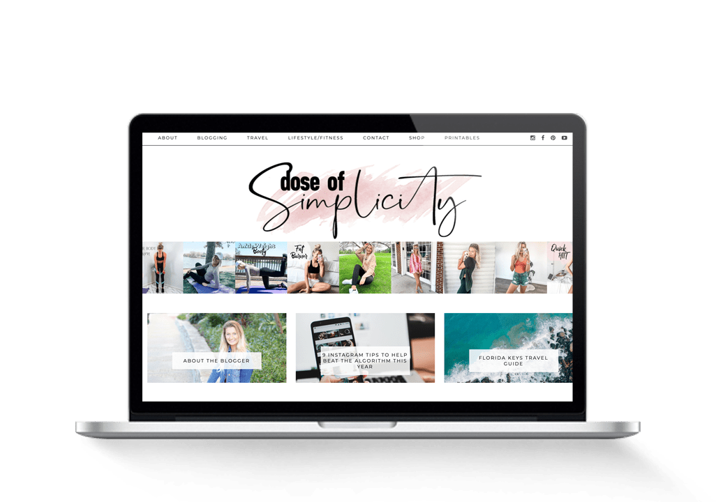fit lifestyle blog for sale with Pinterest course