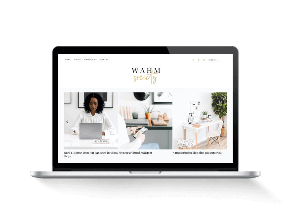 wahm blog for sale finance tips
