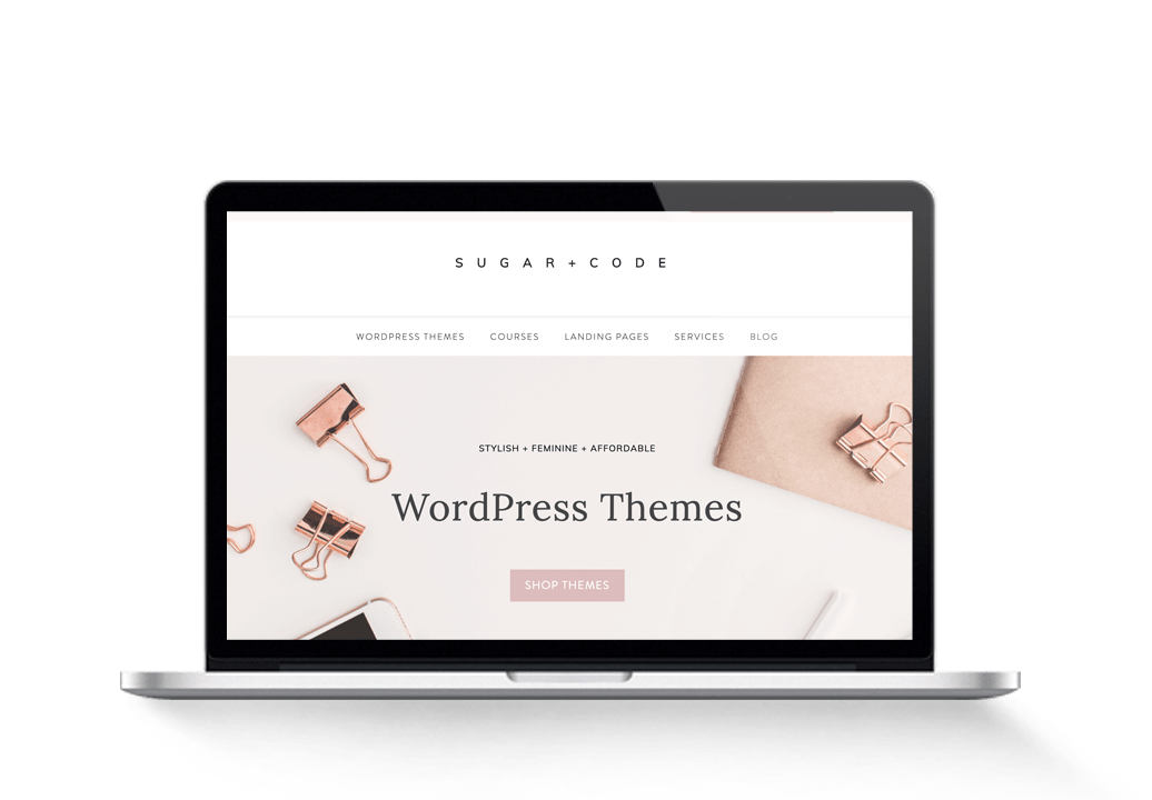 Genesis Feminine WordPress Themes Business