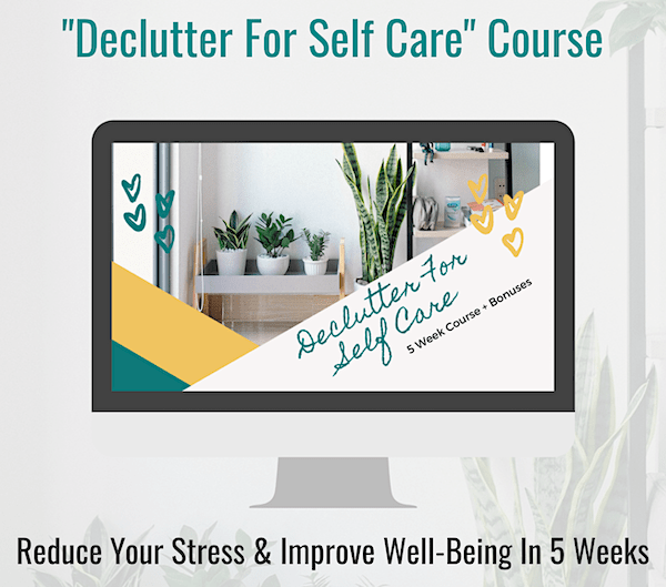 declutter for selfcare course Minimalism And Mental Health Blog For Sale