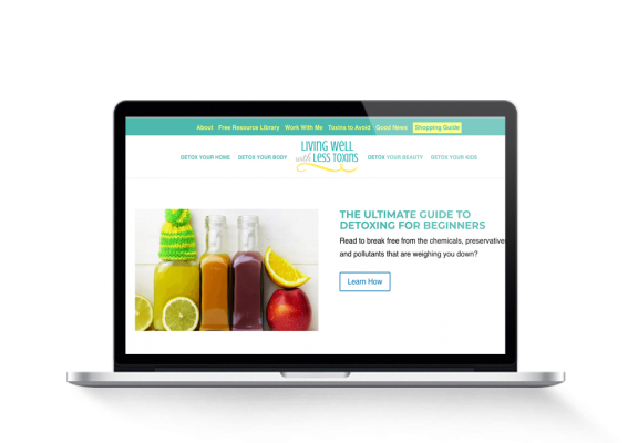 Health And Beauty Detox Blog For Sale