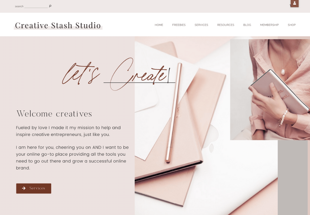 Profitable canva template shop for sale