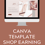 profitable canva template business for sale