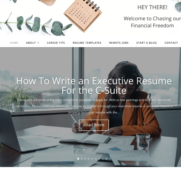 career and remote jobs niche site for sale