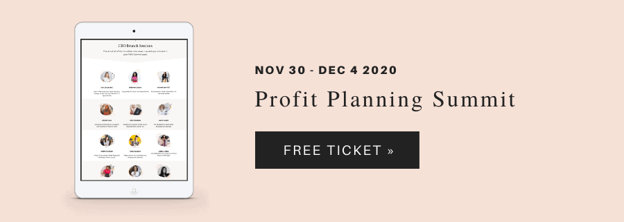 profit planning summit 12