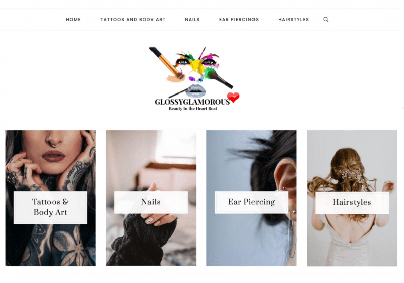 tattoos and nails niche site for sale