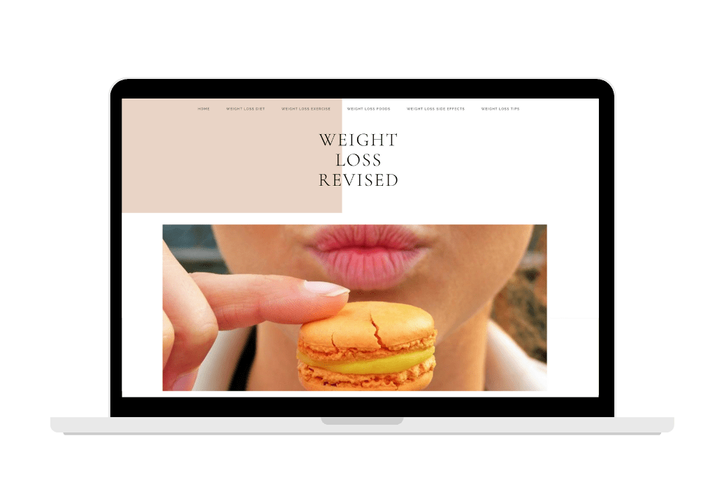 Starter Weight loss Niche Site for sale