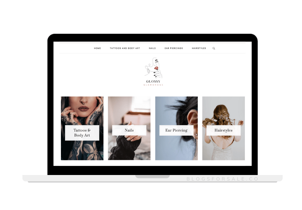 nails and tattoo niche site for sale