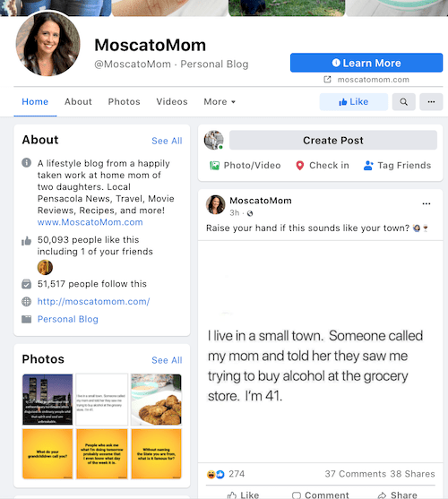 keto Intermittent Fasting facebook page for sale